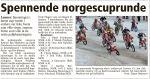 2. plass i Norges Cup 1 på Lunner 3. mars 2012